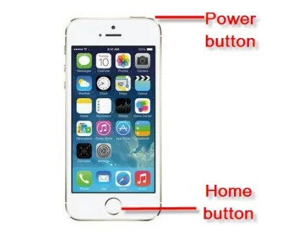 iphone 5c home button not working take a screenshot on iphone 5s using new ios7 9081