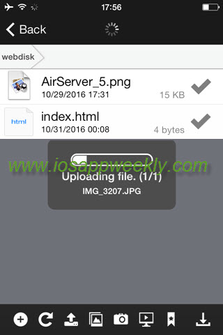 Manage files on your server from iPhone using cPanel Web Disk – iOS