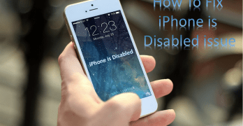 "How to Fix ""iPhone is Disabled"" Error Quickly [Easiest Method]"