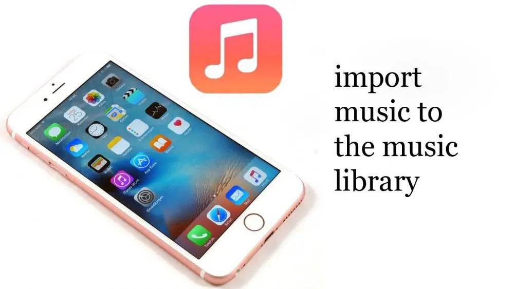 Import Music