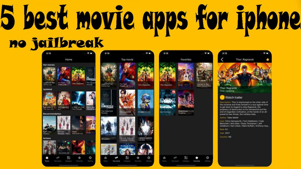 Great movie apps