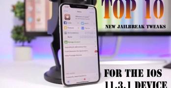 New jailbreak tweaks – Download 10 jailbreak tweaks for the iOS 11.3.1