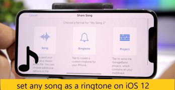 Set ringtone on iPhone – Set any song as a ringtone on iOS 12 device