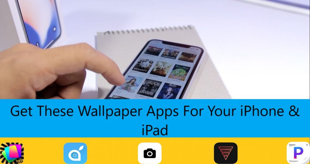 Best wallpaper apps for iPhone