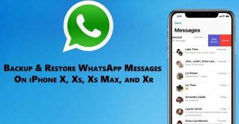 Restore WhatsApp Messages