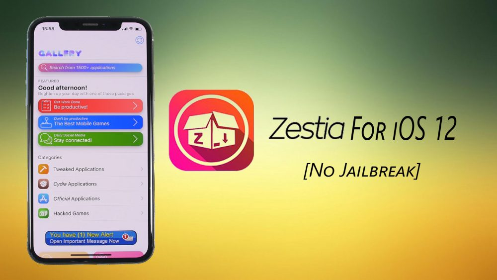 Zestia download for iOS 12