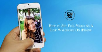 set video as live wallpaper
