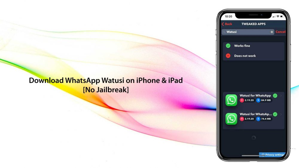 New WhatsApp For iPhone