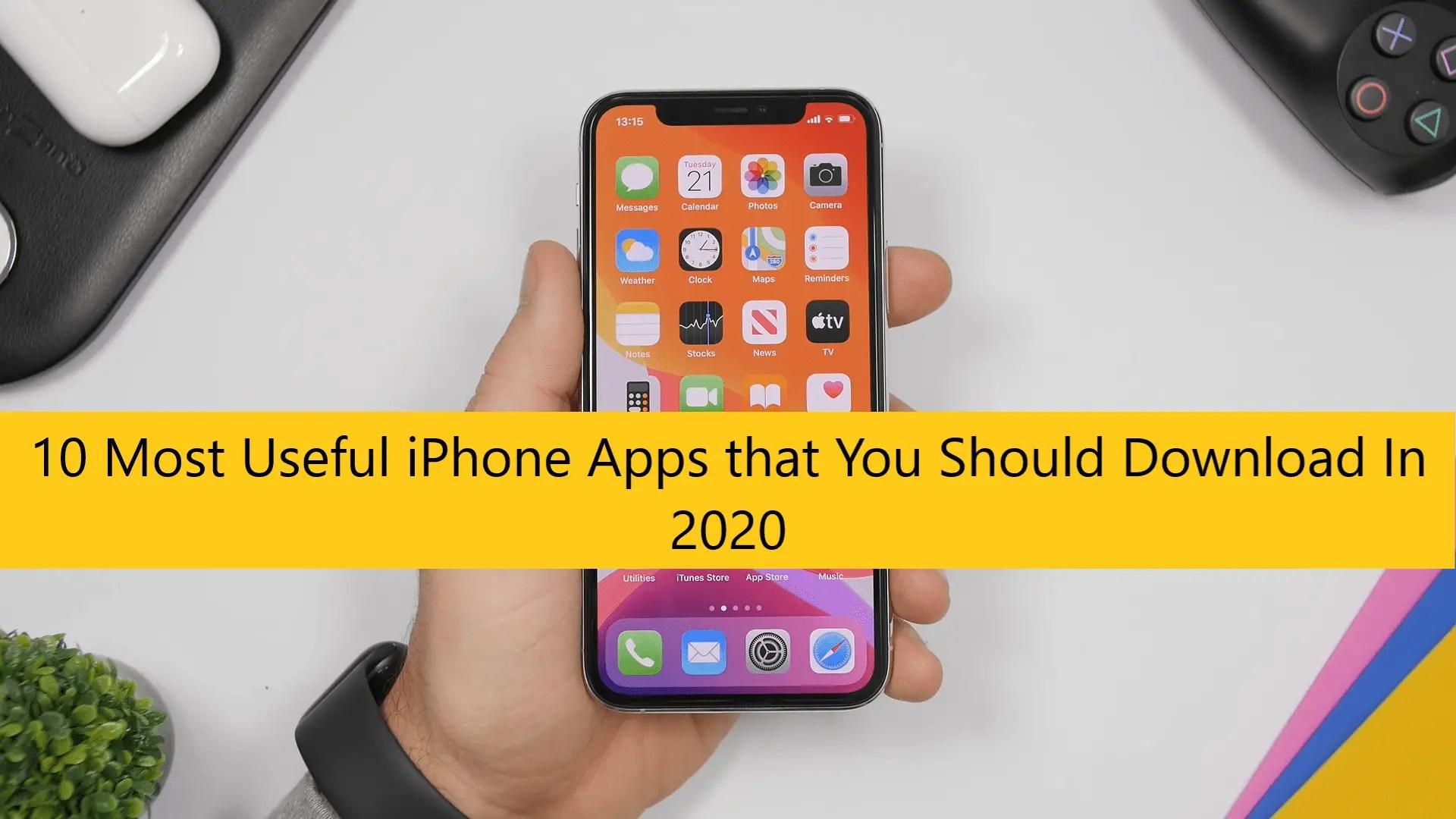Essential iPhone Apps