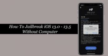 Jailbreak For iOS 13