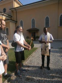 Incontro con un sacerdote