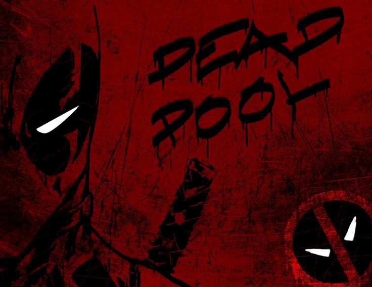 Deadpool IPhone Dark Background IOS Mode
