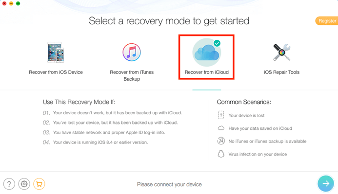 4 Steps to Download iCloud Backup to Windows 7/10
