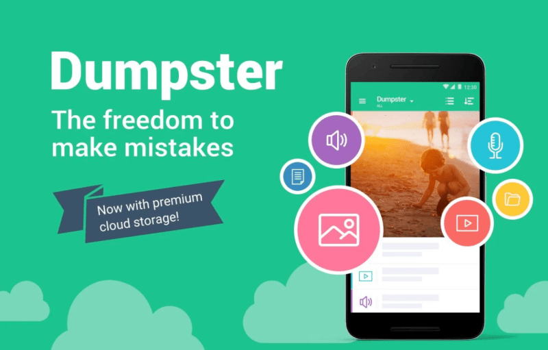Recover Deleted Android Pictures with Dumpster App