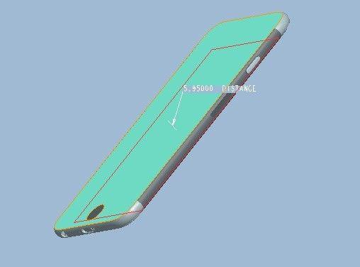 iPhone 6, renderizado 3D auténtico