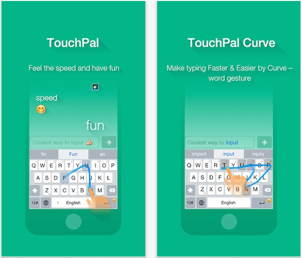 TouchPal teclado iOS 8