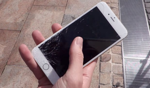 iphone 6 de apple pantalla rota