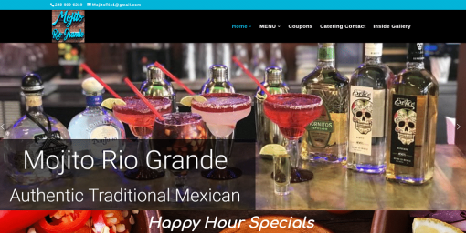 Responsive Design Website – Restaurant