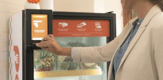 distributore di cibo automatico