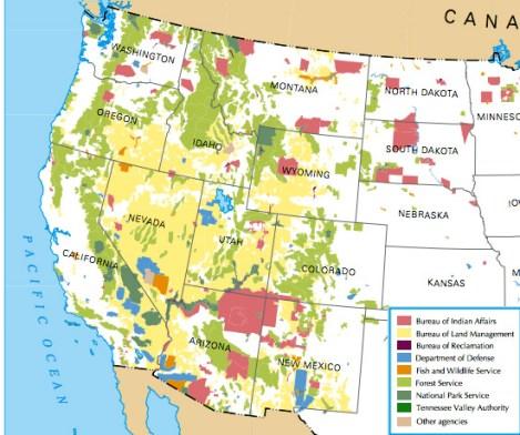 Fed Land west
