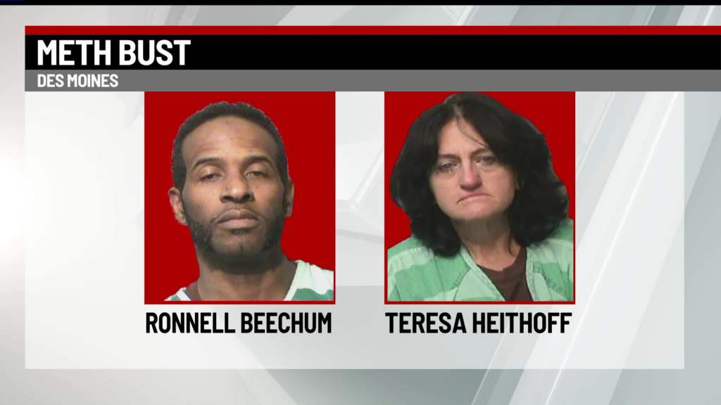 Police: Traffic Stop Leads to Discovery of Nearly 200 Grams of Meth in Des Moines 2