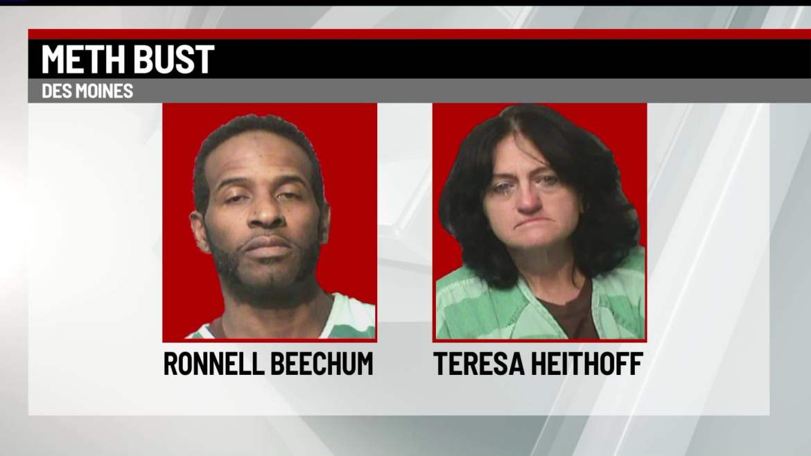 Police: Traffic Stop Leads to Discovery of Nearly 200 Grams of Meth in Des Moines