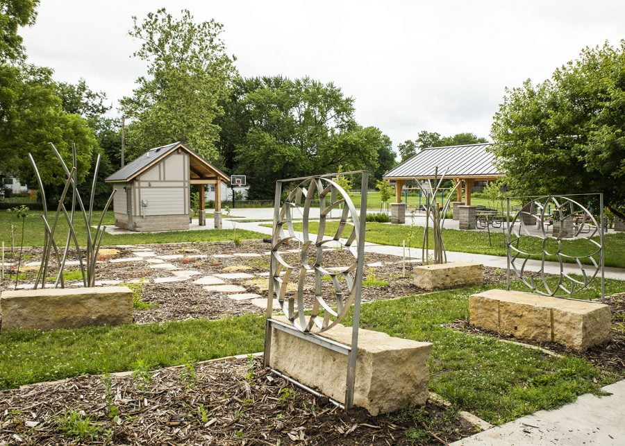 New public art installation introduced in Creekside Park