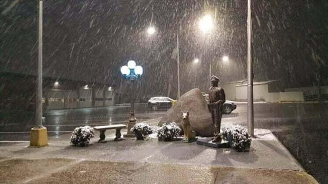 Snow, slush greet Sunday drivers in Perry area 2