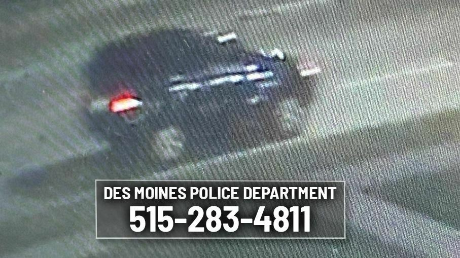 Des Moines Police Searching for Suspect in Fatal Hit-and-Run