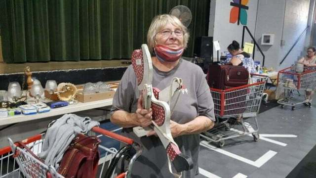 Shoppers browse two years' goods at Regina Guild rummage sale 2