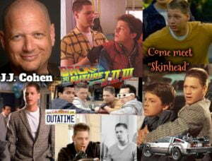 """J.J. COHEN OF """"BACK TO THE FUTURE' TO APPEAR AT ACME COMICS SUNDAY 27"""