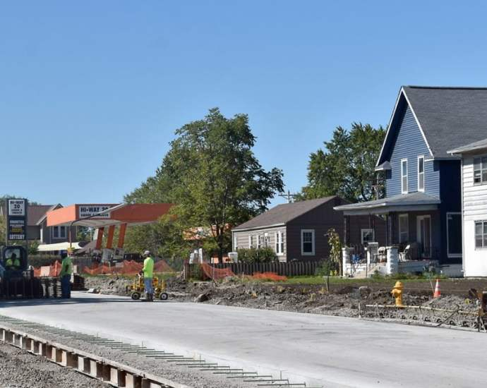 Work on the 2021 Second Street project moves closer to completion 5