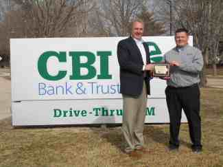 Chris Carlson, CBI Bank & Trust
