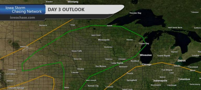 Iowa Day Three Convective Outlook