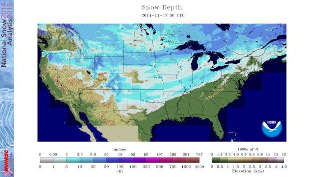 National Snow Depth