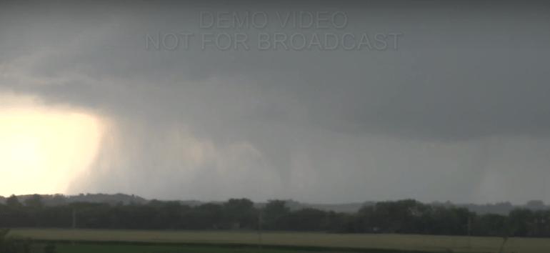 South Dakota Tornado August