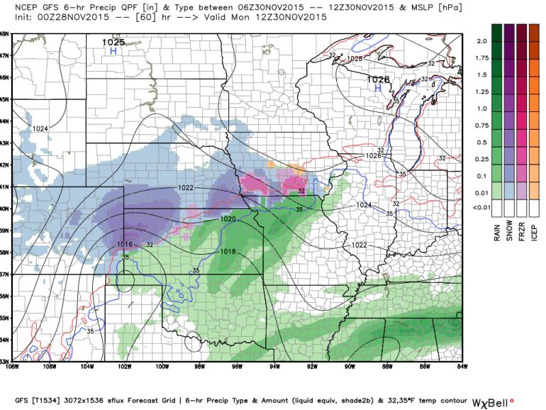 Iowa Forecast Radar