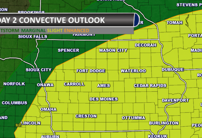 Iowa Severe Weather Outlook