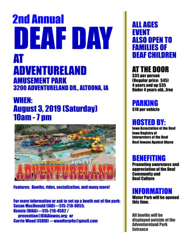 ISD Adventureland Event