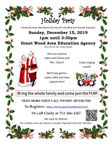 Holiday Party Sunday