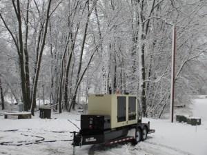 generator on site