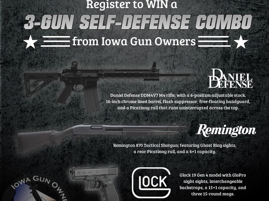 3-Gun Self-Defense Winner Is…