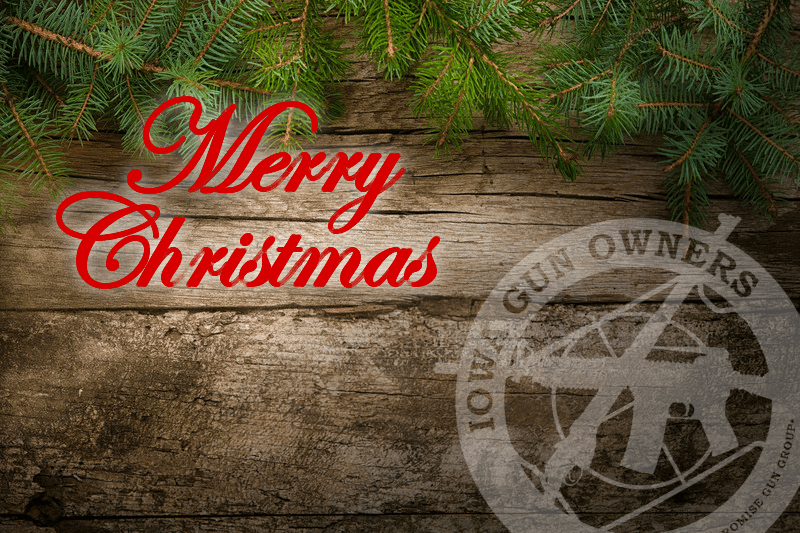 Merry Christmas from Iowa Gun Owners