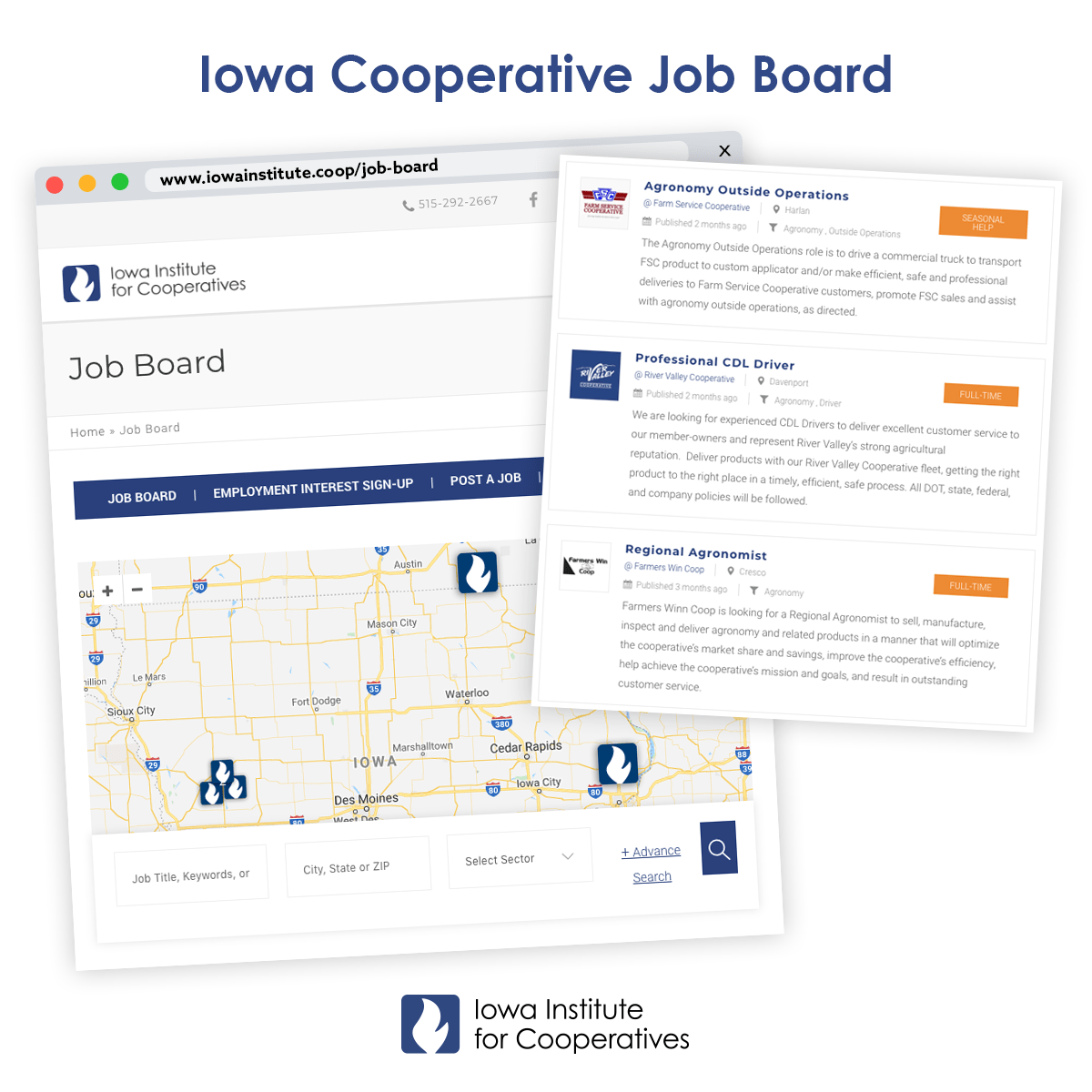 Iowa Cooperative Job Board