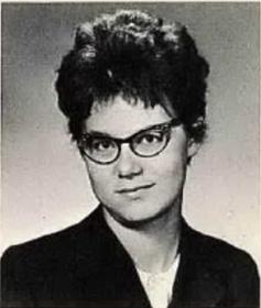 Gloria Slump (from 1962 Grace Bible Institute yearbook)
