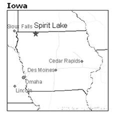 location of Spirit Lake