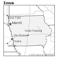 ocation of Merrill, Iowa