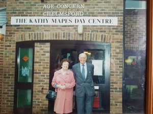 Kathy and Norman Mapes