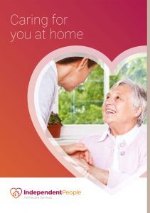 Visiting Care Brochure - Front