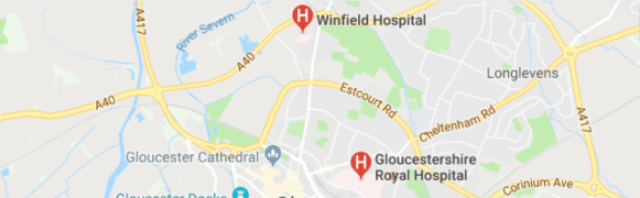 hospitals in Gloucestershire